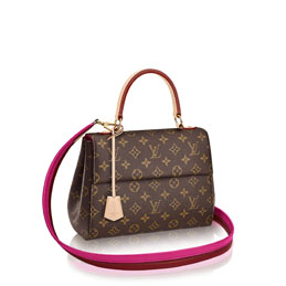 louis vuitton cluny bb monogram canvas handbags