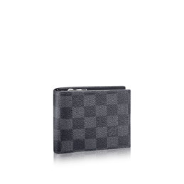 louis vuitton amerigo wallet damier graphite canvas small leather goods