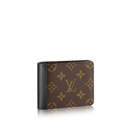 louis vuitton gaspar wallet monogram macassar canvas small leather goods