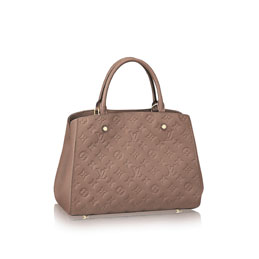louis vuitton montaigne mm monogram empreinte handbags