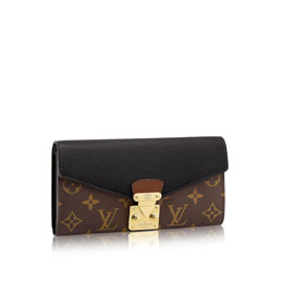louis vuitton pallas wallet monogram taurillon leather small leather goods