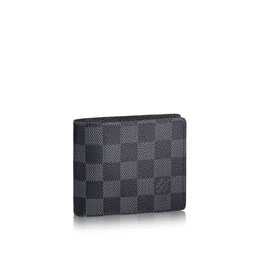 louis vuitton slender wallet damier graphite canvas small leather goods