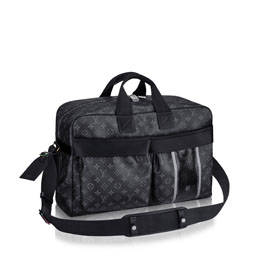 louis vuitton travel bag monogram eclipse flash travel