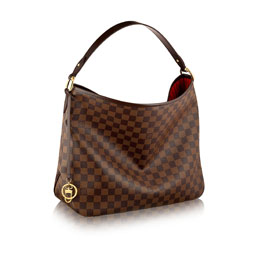 louis vuitton delightful pm damier ebene canvas handbags