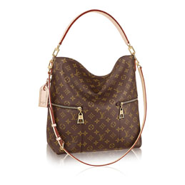 louis vuitton melie monogram canvas handbags