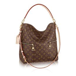 louis vuitton melie monogram canvas handbags