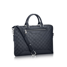 louis vuitton avenue soft briefcase damier infini leather men s bags