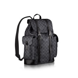 louis vuitton christopher pm damier graphite canvas travel
