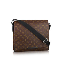 louis vuitton district mm monogram macassar canvas bags