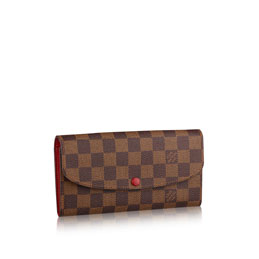 louis vuitton emilie wallet damier ebene canvas small leather goods