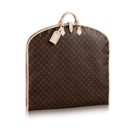 louis vuitton garment cover monogram canvas travel