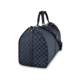 louis vuitton keepall bandouliere 55 damier cobalt canvas travel