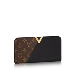 louis vuitton kimono wallet monogram canvas small leather goods