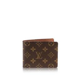 louis vuitton multiple wallet monogram canvas small leather goods