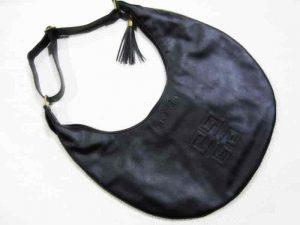 Crescent shaped bag